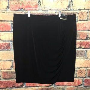NWT Lane Bryant Black Skirt 26 28 plus